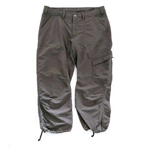 THE NORTH FACE Women's Gray Ruched Crop Carpis 6